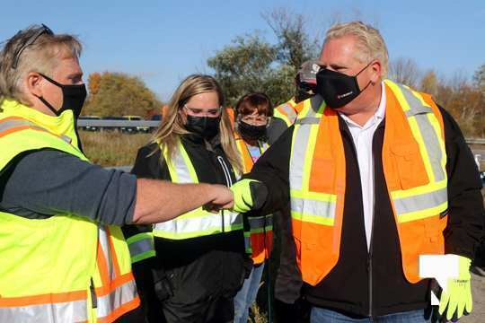 Highway of Heroes Premier Ford October 23 2020088