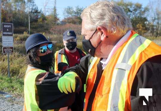 Highway of Heroes Premier Ford October 23 2020095