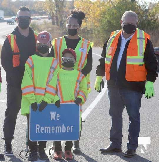 Highway of Heroes Premier Ford October 23 2020123