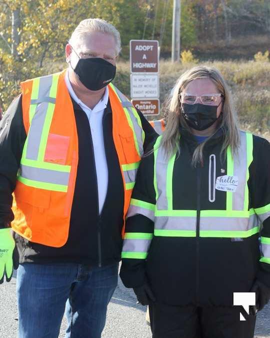 Highway of Heroes Premier Ford October 23 2020129