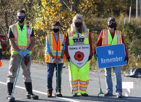 Highway of Heroes Premier Ford October 23 2020141