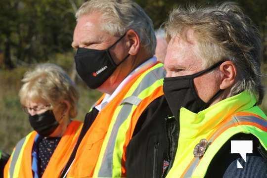 Highway of Heroes Premier Ford October 23 2020142