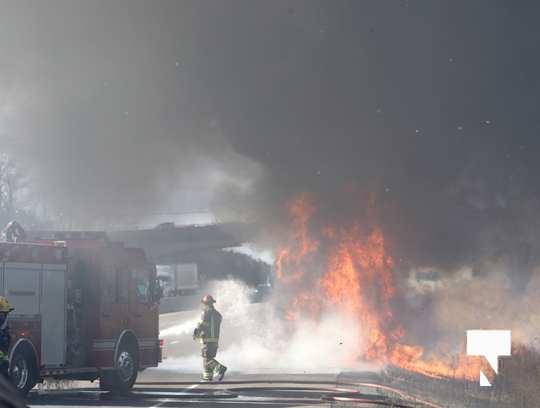 Camper Fire Hwy 401 Cobourg Nov 2 2020002