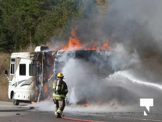 Camper Fire Hwy 401 Cobourg Nov 2 2020006