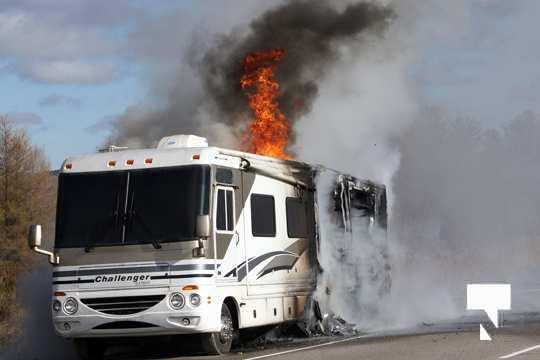 Camper Fire Hwy 401 Cobourg Nov 2 2020009