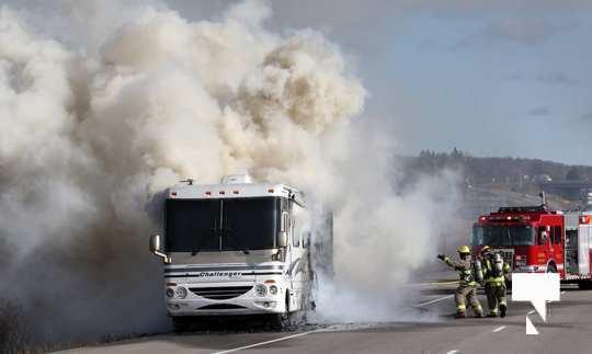 Camper Fire Hwy 401 Cobourg Nov 2 2020016