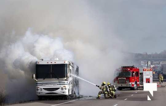 Camper Fire Hwy 401 Cobourg Nov 2 2020018