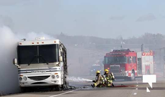 Camper Fire Hwy 401 Cobourg Nov 2 2020019