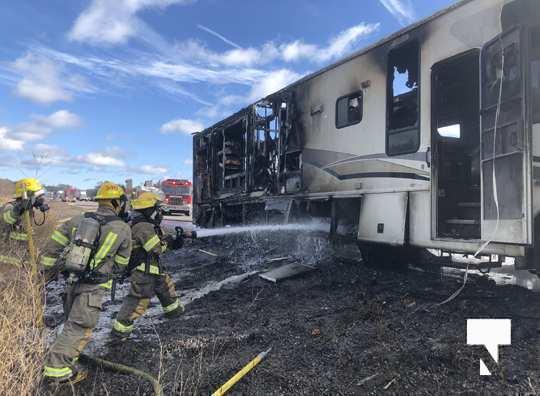 Camper Fire Hwy 401 Cobourg Nov 2 2020025