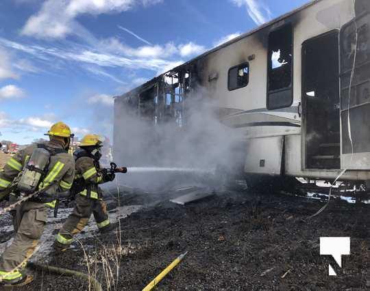 Camper Fire Hwy 401 Cobourg Nov 2 2020026