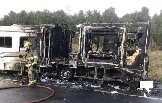 Camper Fire Hwy 401 Cobourg Nov 2 2020027