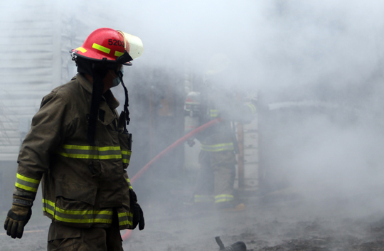 Garage Fire Hamilton Township December 3, 2020029