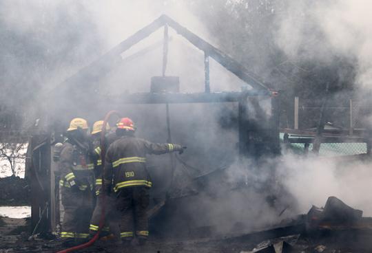 Garage Fire Hamilton Township December 3, 2020031