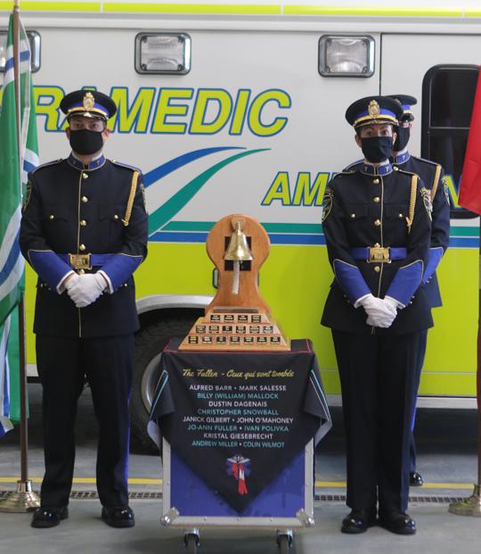 Northumberland County Paramedic Memorial Bell December 2,2020063