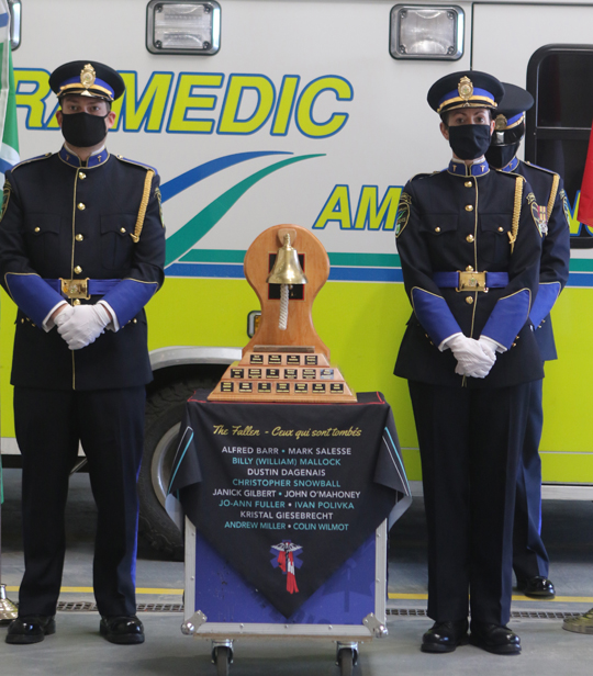 Northumberland County Paramedic Memorial Bell December 2,2020064