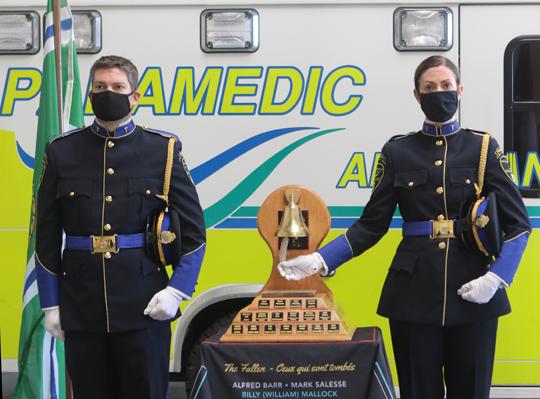 Northumberland County Paramedic Memorial Bell December 2,2020066