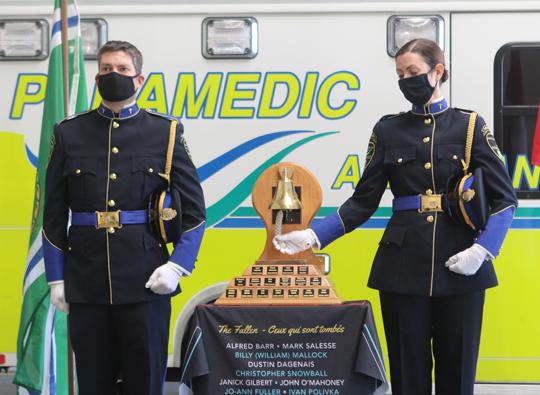 Northumberland County Paramedic Memorial Bell December 2,2020067