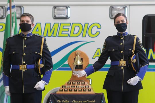 Northumberland County Paramedic Memorial Bell December 2,2020068