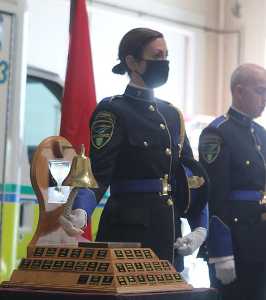Northumberland County Paramedic Memorial Bell December 2,2020069