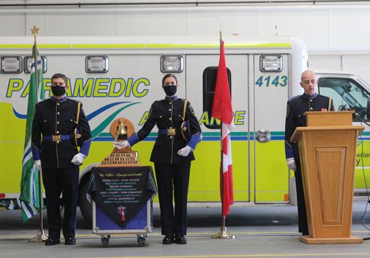 Northumberland County Paramedic Memorial Bell December 2,2020070