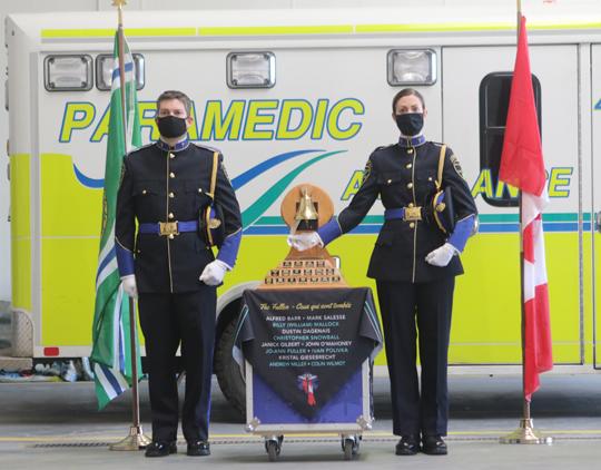 Northumberland County Paramedic Memorial Bell December 2,2020071