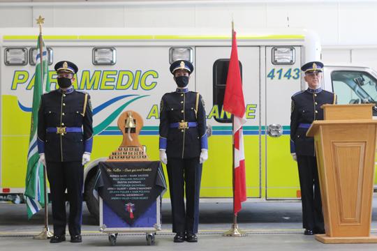 Northumberland County Paramedic Memorial Bell December 2,2020072