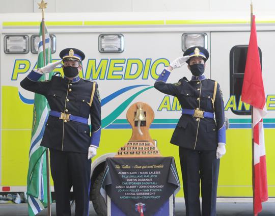 Northumberland County Paramedic Memorial Bell December 2,2020073