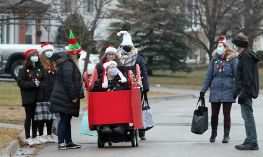 Santa Owen December 20, 202030