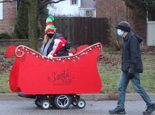 Santa Owen December 20, 202036