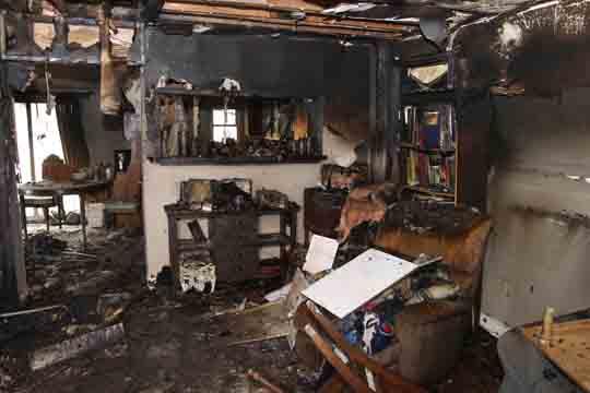 followup house fire Cobourg December 14, 20205