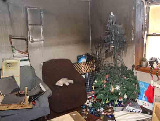 followup house fire Cobourg December 14, 20206