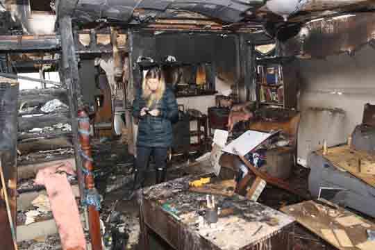 followup house fire Cobourg December 14, 20207
