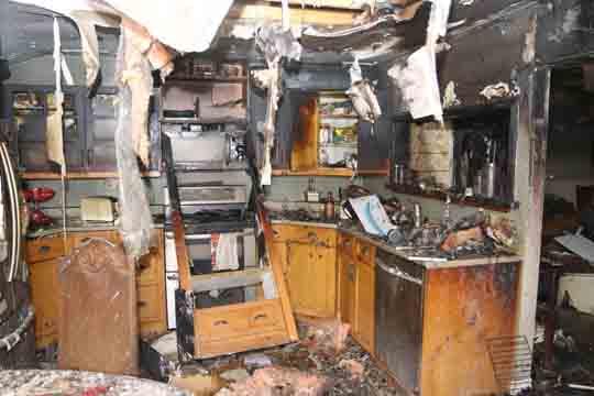 followup house fire Cobourg December 14, 20209