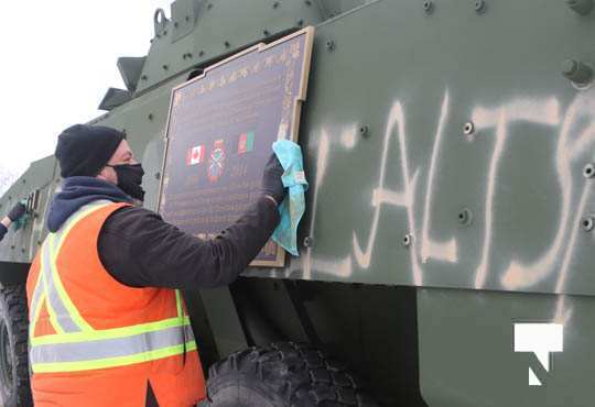 Afghanistan Memorial Defaces in Cobourg January 3, 2021180