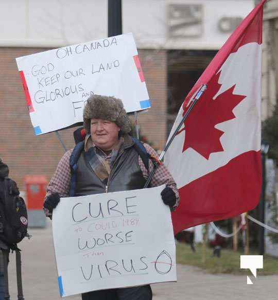 COVID protest Cobourg January 16, 2021089