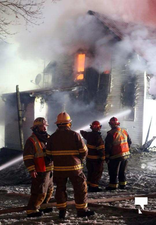 House fire Perrytown January 14, 2021050