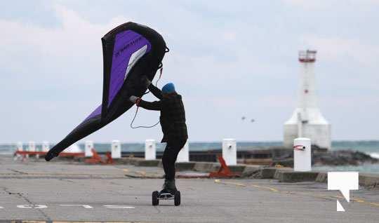 kite surfing123 Cobourg January 21, 2021