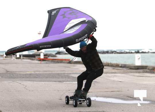 kite surfing126 Cobourg January 21, 2021