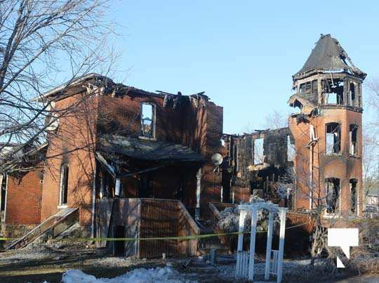 structure fire update Colborne January 23210, 2021