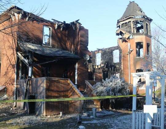 structure fire update Colborne January 23211, 2021