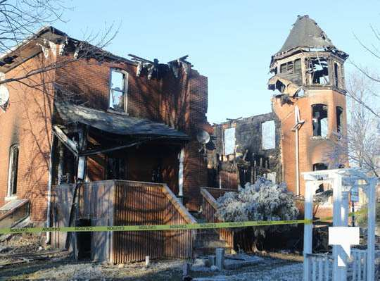 structure fire update Colborne January 23212, 2021