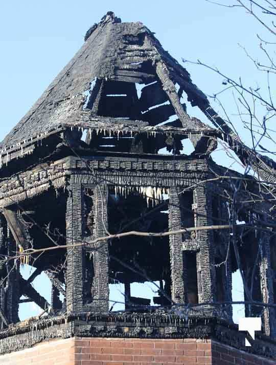 structure fire update Colborne January 23214, 2021