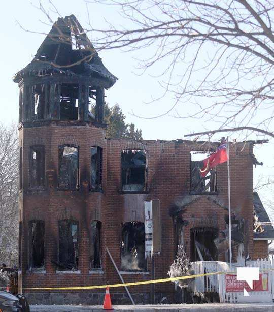 structure fire update Colborne January 23215, 2021
