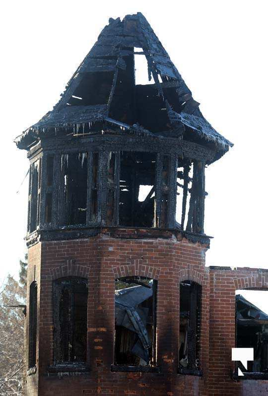 structure fire update Colborne January 23217, 2021