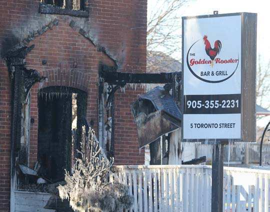 structure fire update Colborne January 23218, 2021