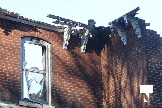 structure fire update Colborne January 23221, 2021