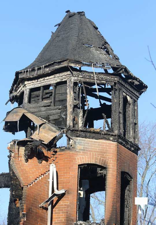 structure fire update Colborne January 23222, 2021