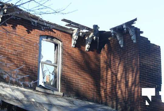 structure fire update Colborne January 23225, 2021