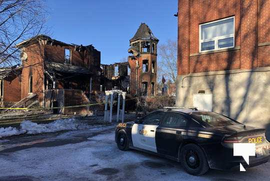structure fire update Colborne January 23227, 2021