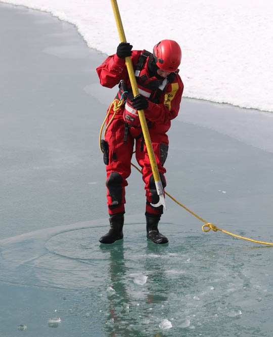 Ice Water Rescue Training Cobourg February 21, 2021128